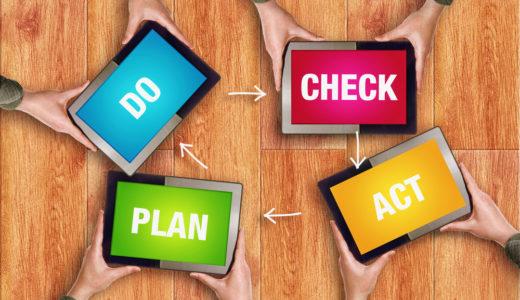 PDCAサイクルを具体的に設計する手法