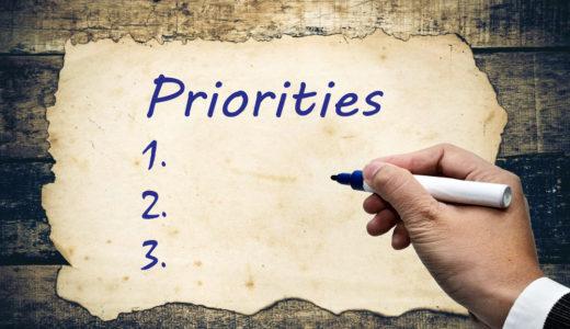 仕事の優先度の本質とは何か。期間と難易度で分類すべし。